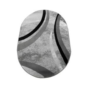 Covor alb - negru CAN01