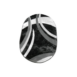 Covor alb - negru CAN03