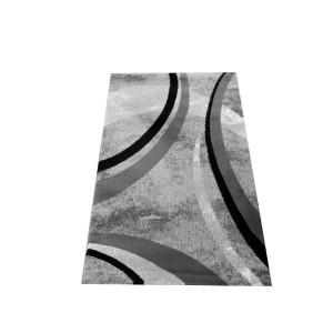 Covor alb - negru CAN05