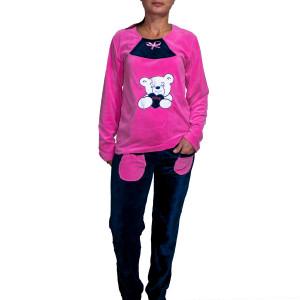 Pijama dama catifea 002