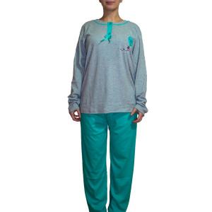 Pijama dama confort 002