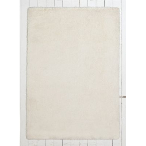 Covor Colour Match Snuggle Shaggy Cotton Cream 170x110cm